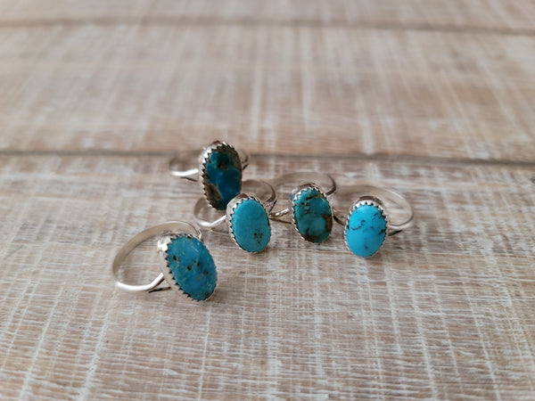 Dorothy Yazzie Turquoise Ring