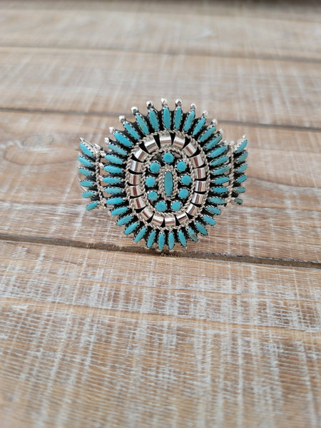ROSEMARY TOM NEEDLEPOINT CLUSTER CUFF