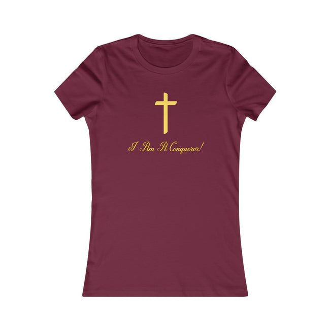 I Am A Conqueror Women's Tee