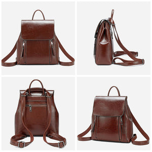 Vintage Small Leather Backpack Purses | OSVEEZIE - OSVEEZIE