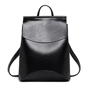 Small Black Leather Backpack Purse for Girls | OSVEEZIE - OSVEEZIE