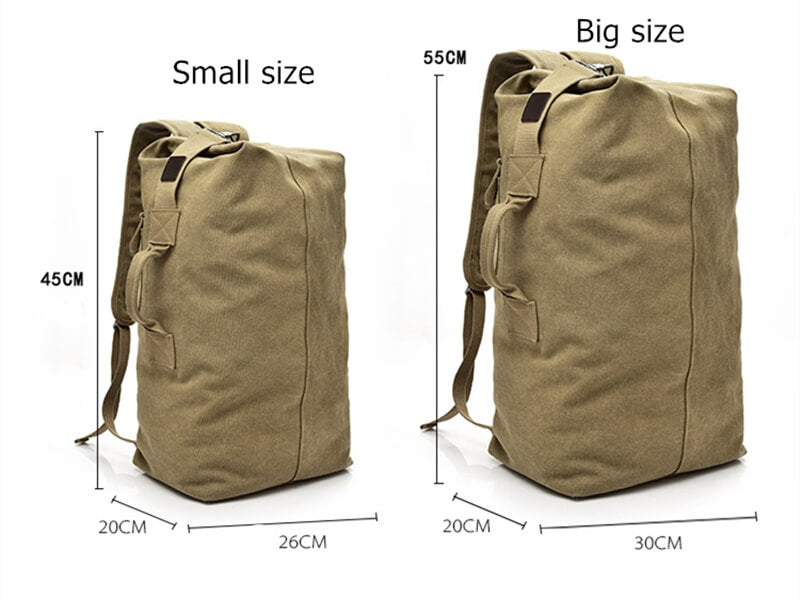 Most Durable Mens Hiking Canvas Backpack | OSVEEZIE - OSVEEZIE