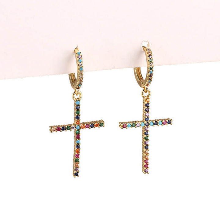 Cross Earrings | OSVEEZIE - OSVEEZIE