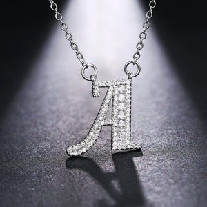 Simple Initial Letter Necklaces | OSVEEZIE - OSVEEZIE