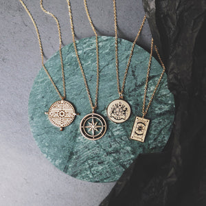 Vintage Unique Pendant Necklace Tarot | OSVEEZIE - OSVEEZIE