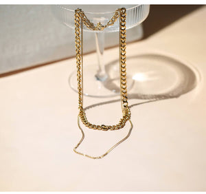 Chain Layed Necklace | OSVEEZIE - OSVEEZIE
