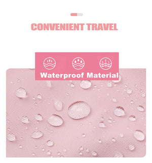 Pink backpack for Girls College Waterproof  ︱OSVEEZIE - OSVEEZIE