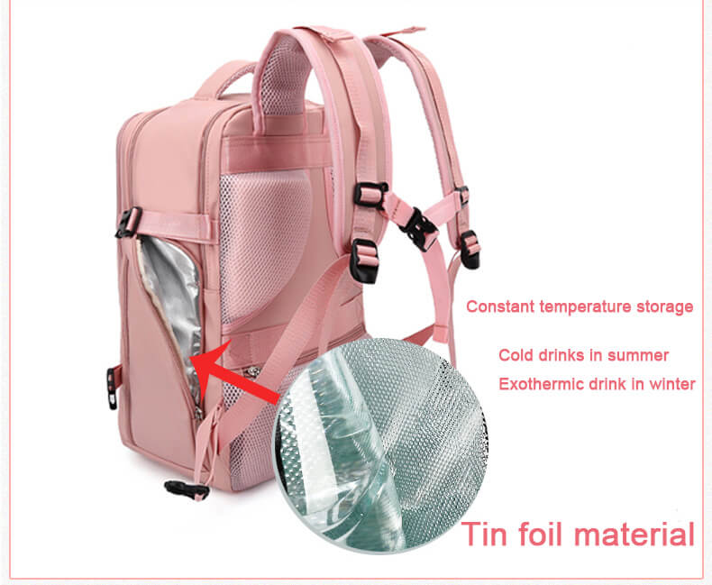 Pink Travel Laptop Backpack for Women Waterproof Anti Theft  ︱OSVEEZIE - OSVEEZIE