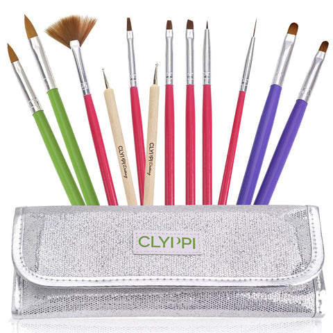 Clyppi Nail Art Brushes Set