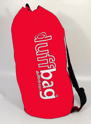New! Limited Edition Red duffbag kit bag