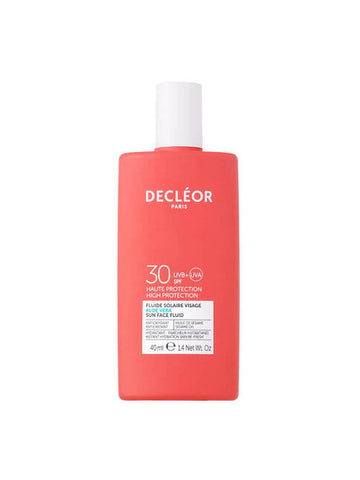 Decleor Aloe Vera Sun Face Fluid SPF 30 (40ml)