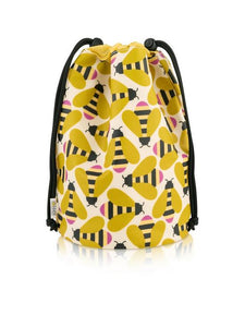 Orla Kiely Busy Bee Barrel Wash Bag