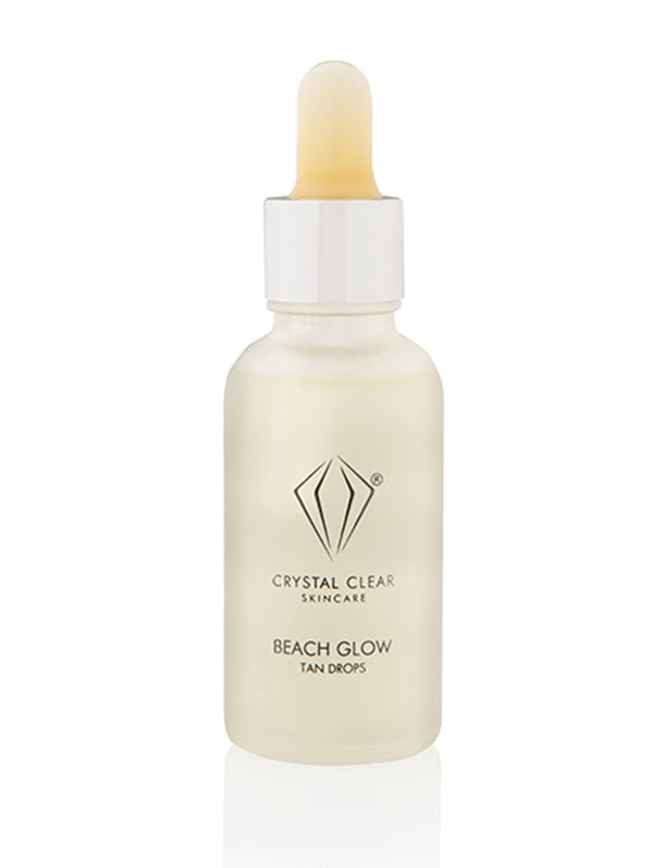 Crystal Clear Beach Glow Tan Drops (30ml)