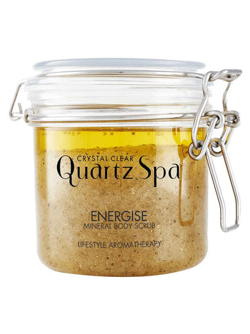 Quartz Spa Energise Mineral Body Scrub (550g)