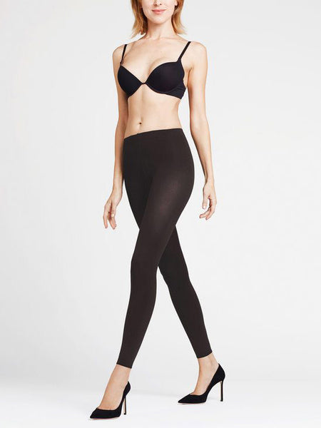 FALKE Pure Matt 100 den Leggings (Black)