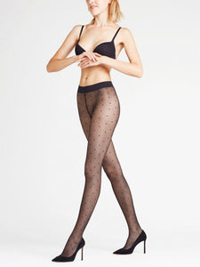 FALKE Dot 15 Tights (Black)