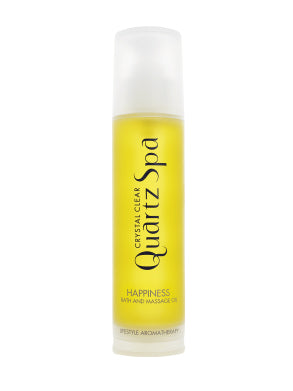 Quartz Spa Happiness Bath & Massage Oil (150ml)