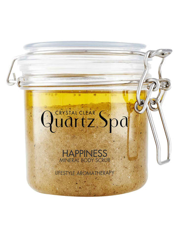 Quartz Spa Happiness Mineral Body Scrub (550g)
