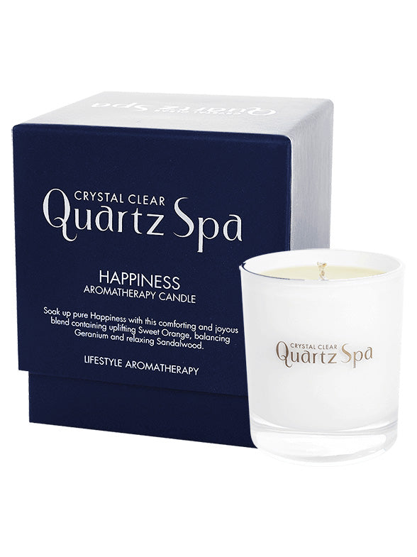 Quartz Spa Happiness Aromatherapy Candle