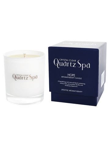 Quartz Spa Hope Aromatherapy Candle