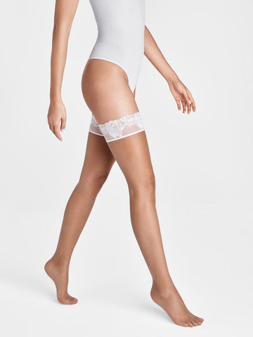 Wolford Nude 8 Lace Stay-Up