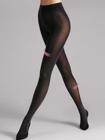 Wolford Individual 50 Leg Support Tights (Black)