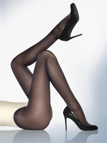 Wolford Satin Opaque 50 Tights (Black)