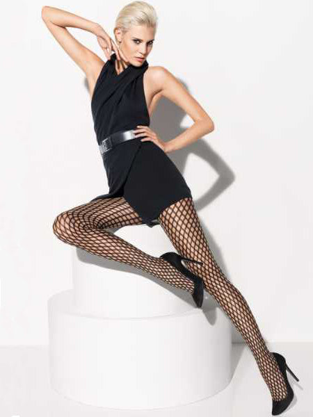 Wolford Sylvie Tights Sahara / Black