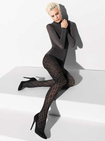 Wolford Thekla Tights Black / Beluga