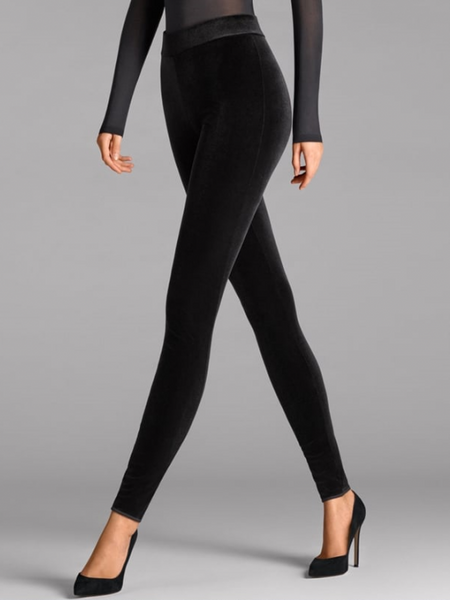 Wolford Velvet Leggings (Black)