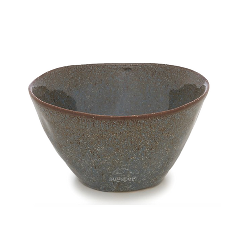 COOPER BLUE GLAZED CEREAL BOWL