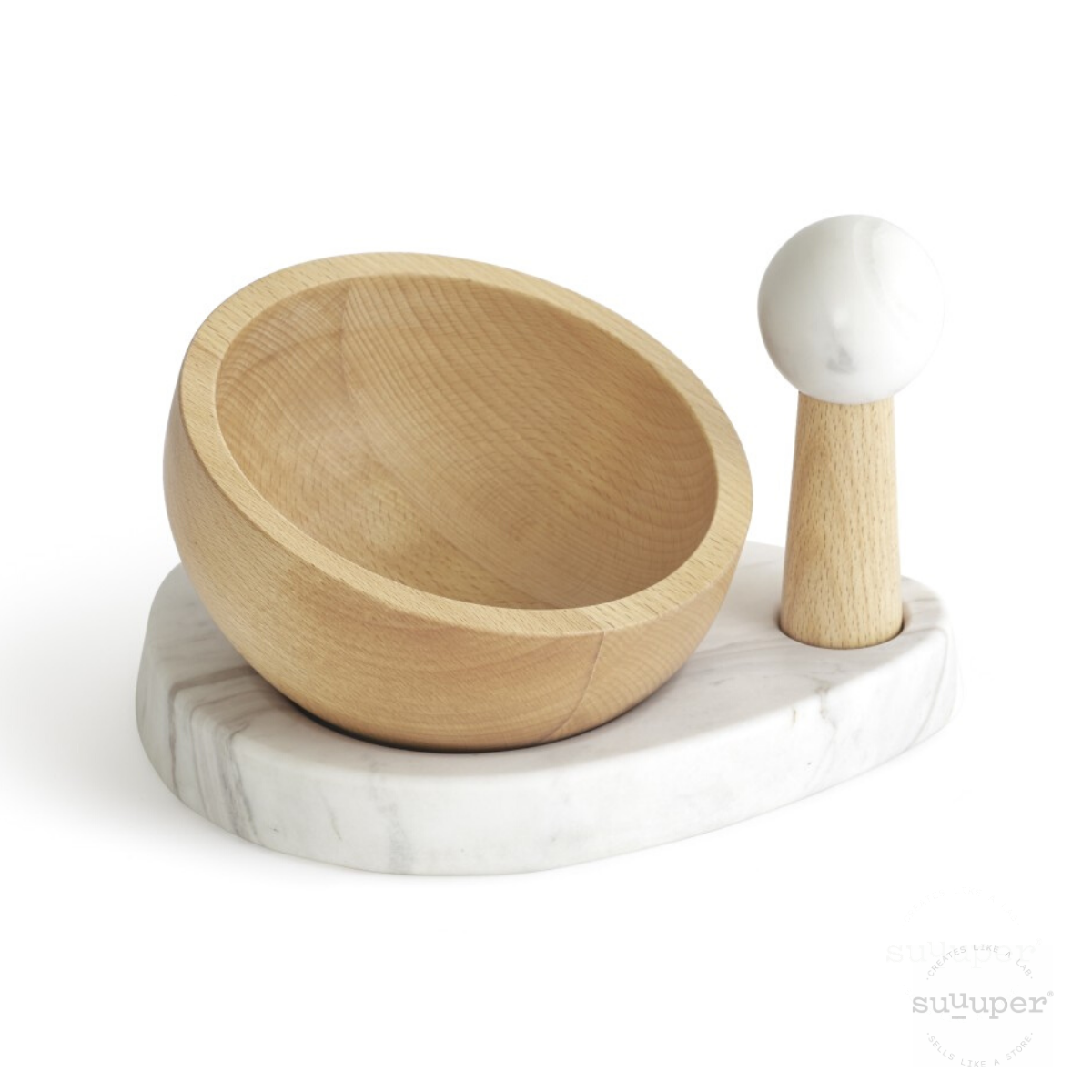 MORTAR & PESTLE - Design by Castor