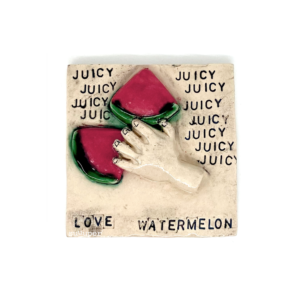 WATERMELON TILE by Sara F