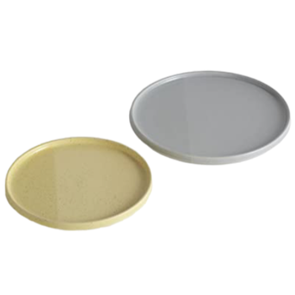 SEDIMENT PLATES by Os & Oos