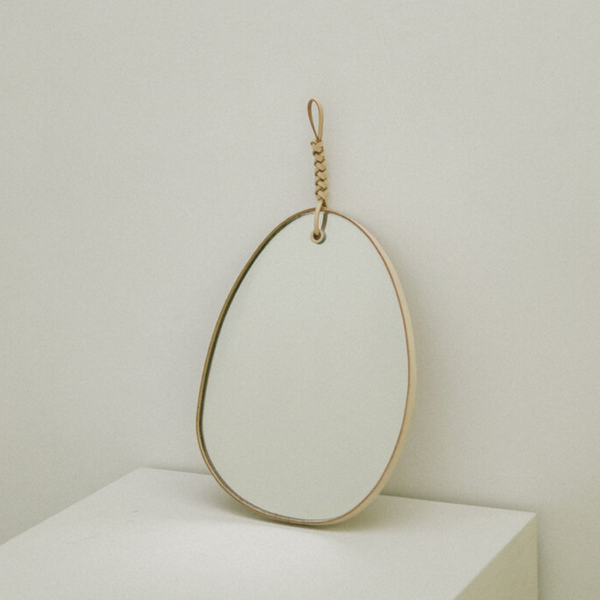HANDMADE LEATHER MIRROR by Kamaro'an Studio, 2019