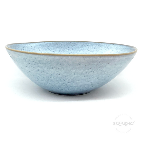 LIGHT BLUE SERVING BOWL