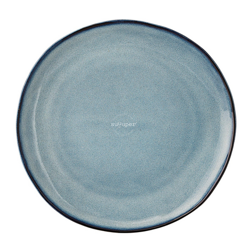 BLUE SKY GLAZED PLATE