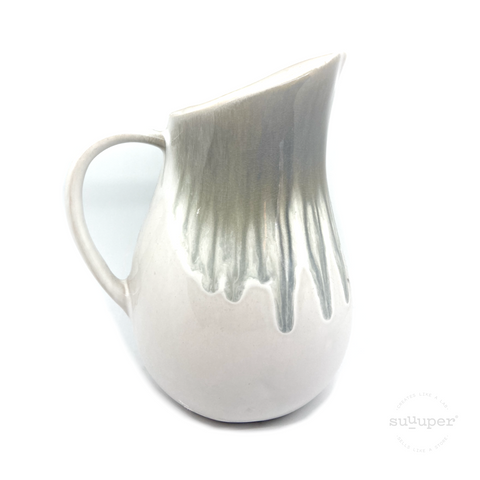 CRACKLE SEA WATER JUG