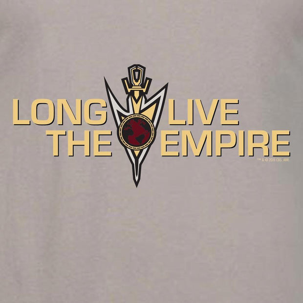 Star Trek: Discovery Mirror Universe Long Live The Empire Adult Short Sleeve T-Shirt