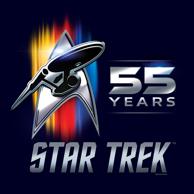 Star Trek 55th Anniversary Fleece Blanket