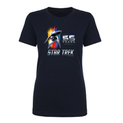 Star Trek 55th Anniversary Women's Short Sleeve T-Shirt