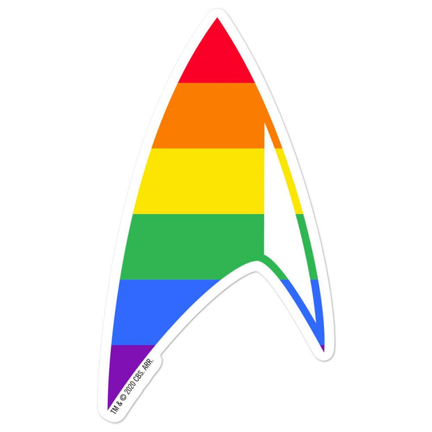 Star Trek: Discovery Pride Delta Die Cut Sticker