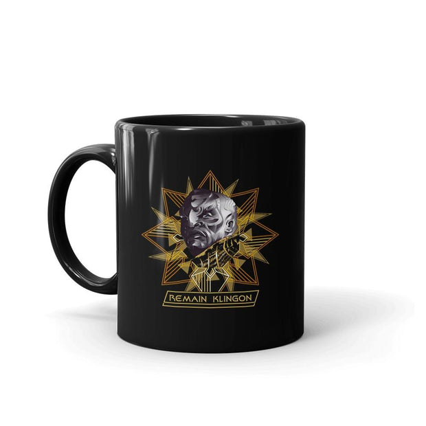 Star Trek: Discovery Remain Klingon Black Mug