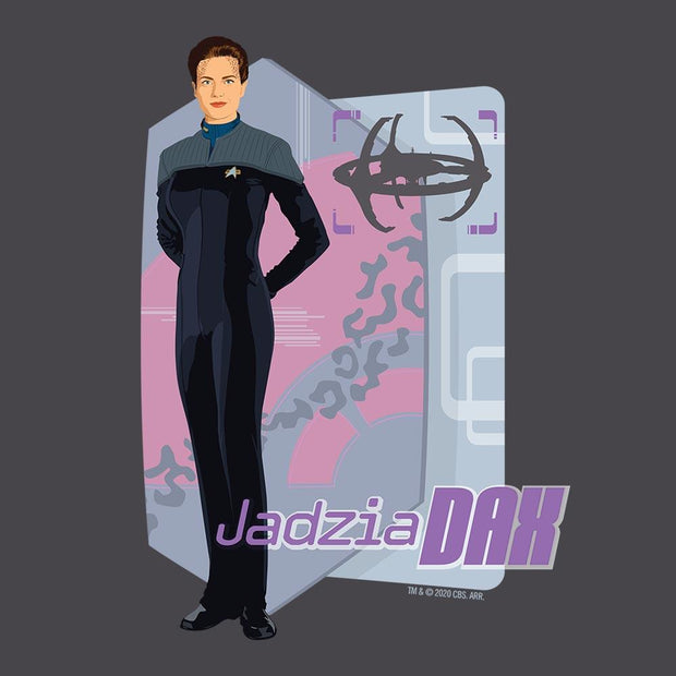 Star Trek: Deep Space Nine Jadzia Dax Adult Short Sleeve T-Shirt