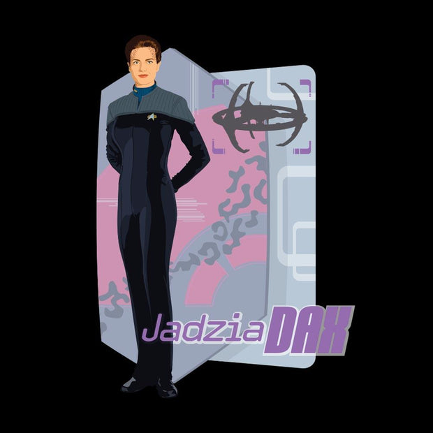 Star Trek: Deep Space Nine Jadzia Dax Black Mug