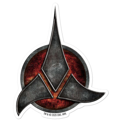 Star Trek Klingon Logo Die Cut Sticker