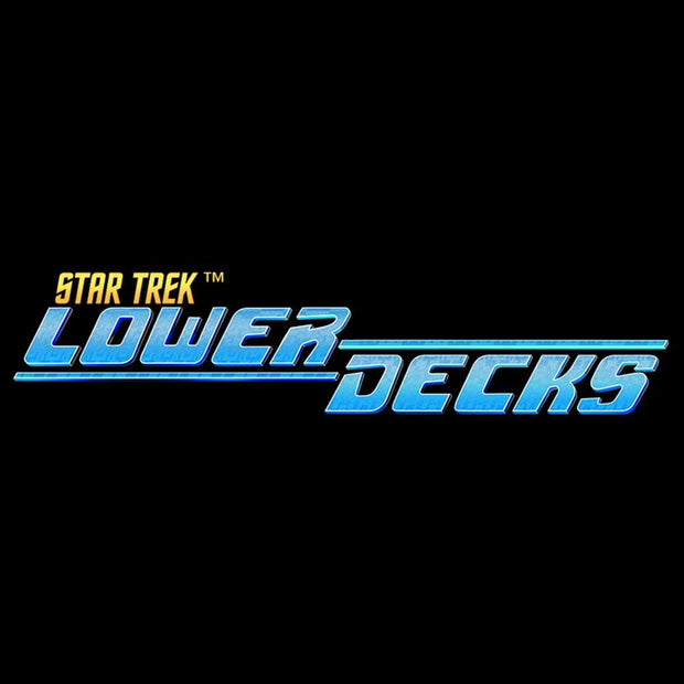 Star Trek: Lower Decks Logo Black Mug