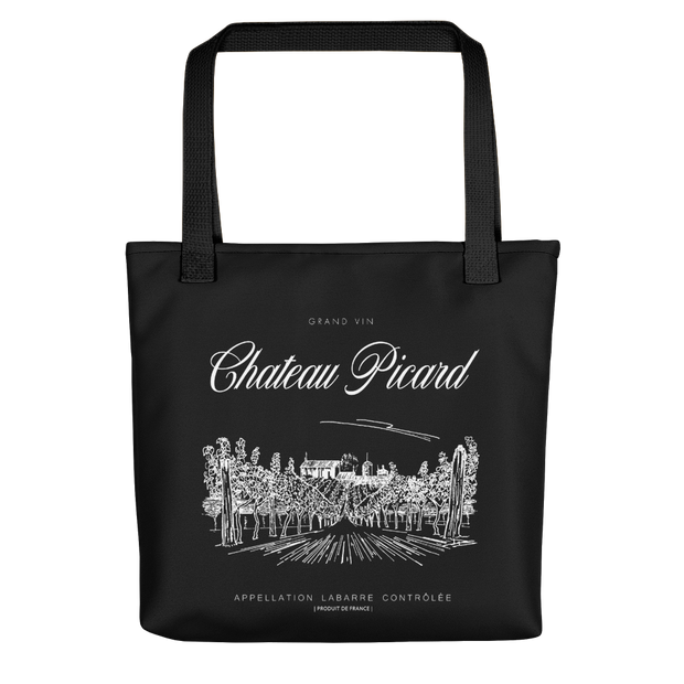 Star Trek: Picard Chateau Picard Vineyard Canvas Tote Bag