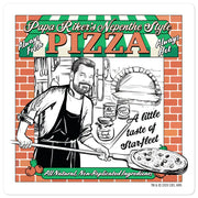 Star Trek: Picard Riker's Pizza DIe Die Cut Sticker