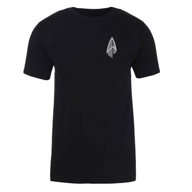 Star Trek: Picard Starfleet Badge Adult Short Sleeve T-Shirt